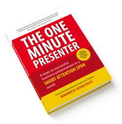 The One Minute Presenter's Executive Speech Coach