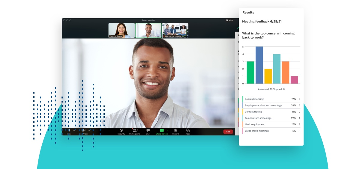 Momentive introduces SurveyMonkey app for Zoom to bring live feedback to meetings