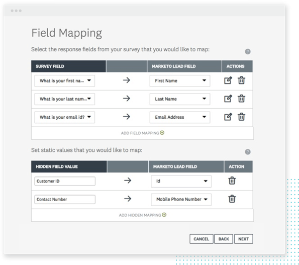 Field mapping