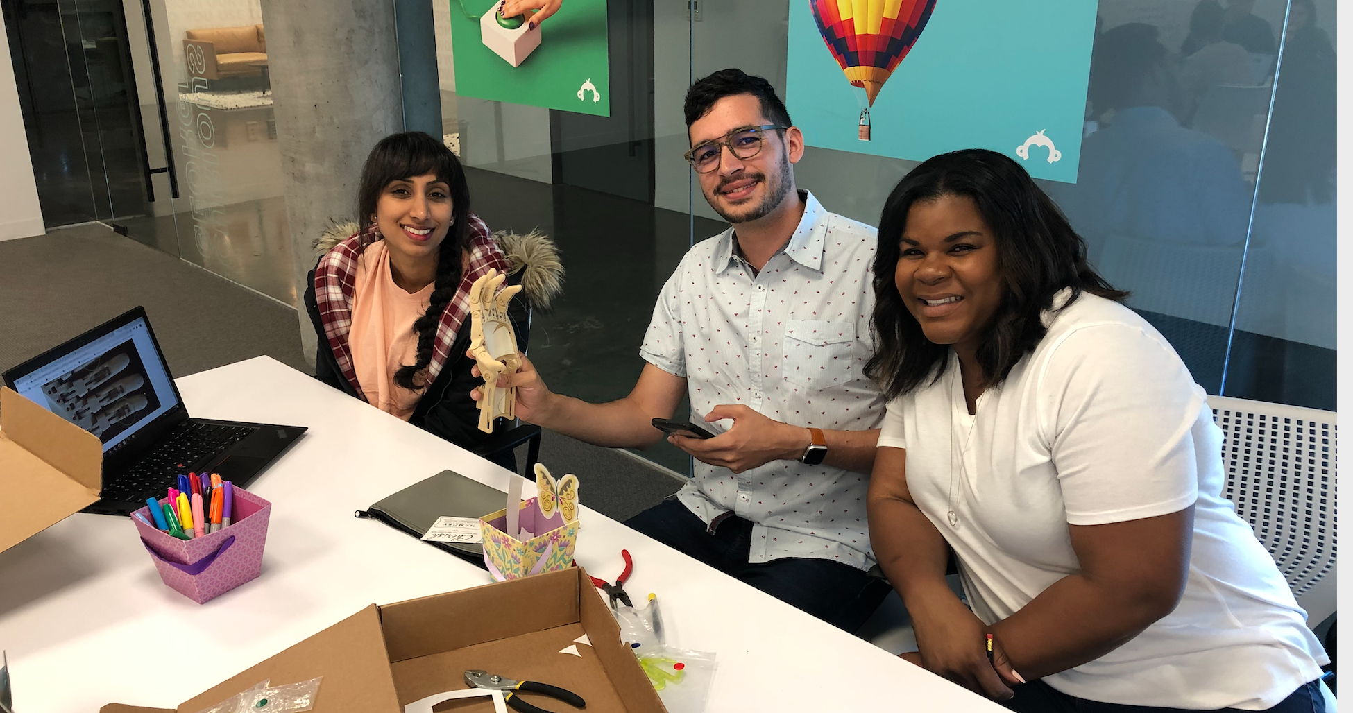 New hires make hands of gratitude: Inside the inaugural Power the Community event