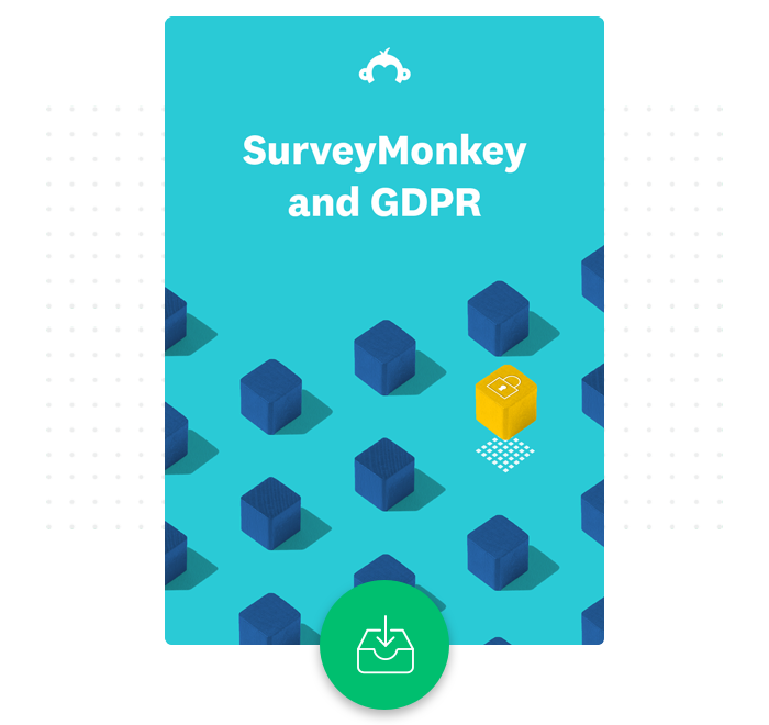 SurveyMonkey and GDPR whitepaper, download now