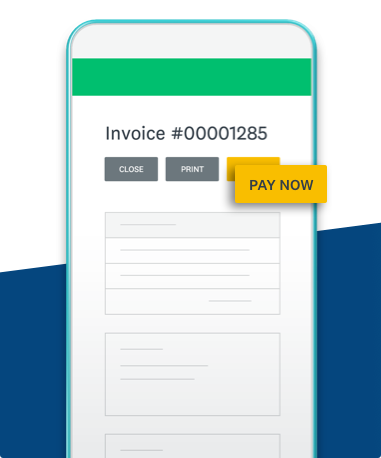 Invoice on mobile