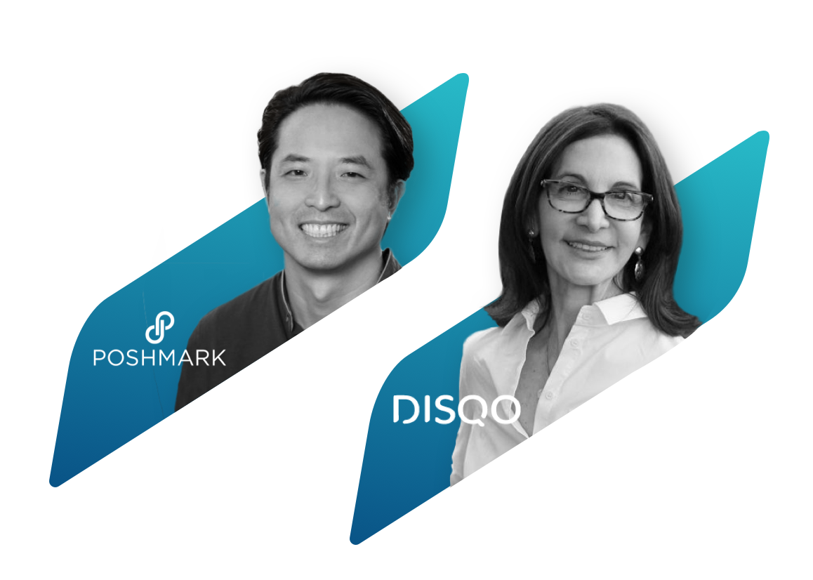 Speakers from Poshmark and DISQO