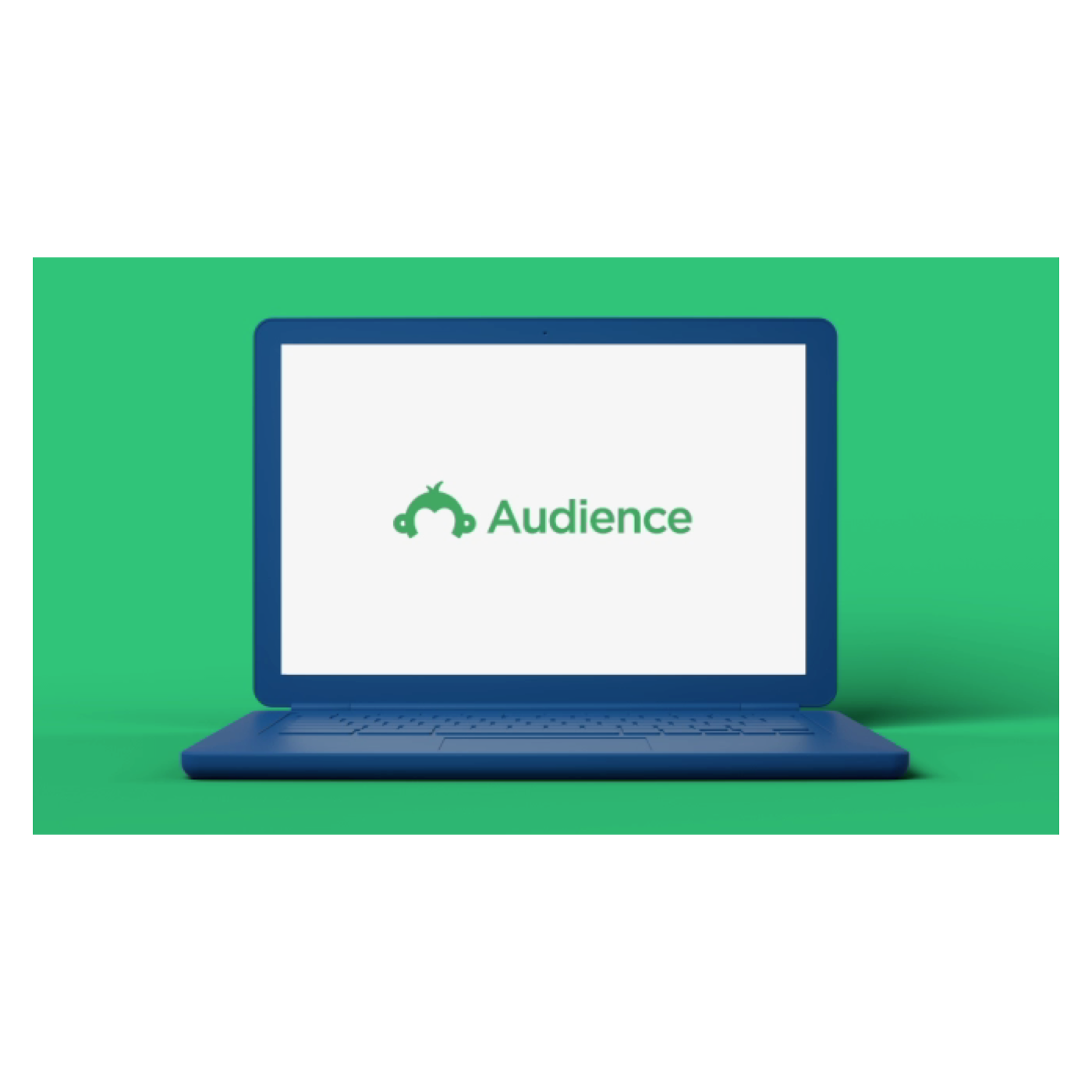 Computer with Audience logo