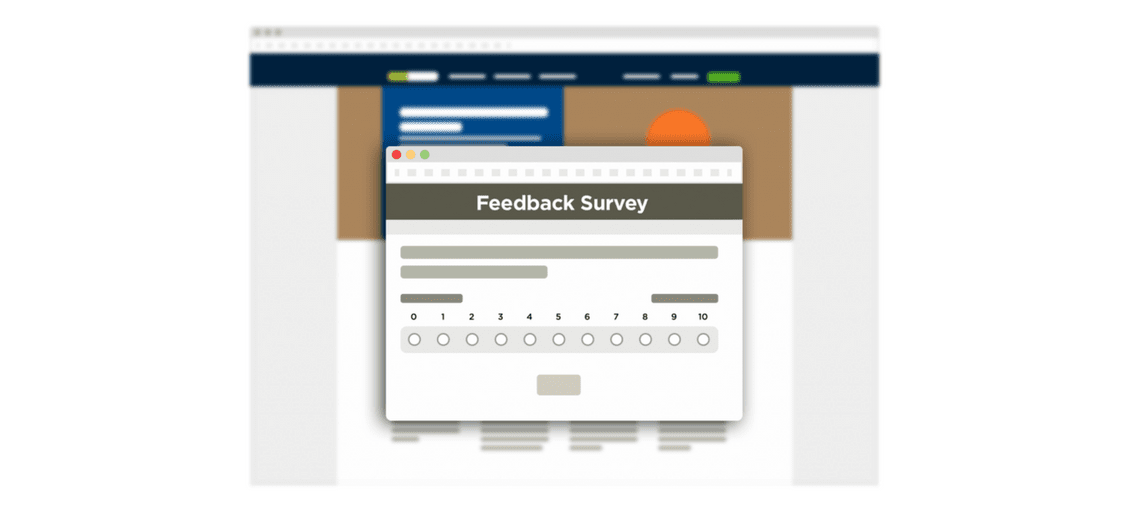 3 easy ways to survey your website visitors