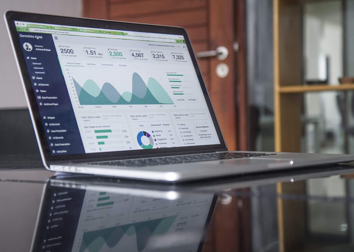 Business Performance Management Tool: Dashboard