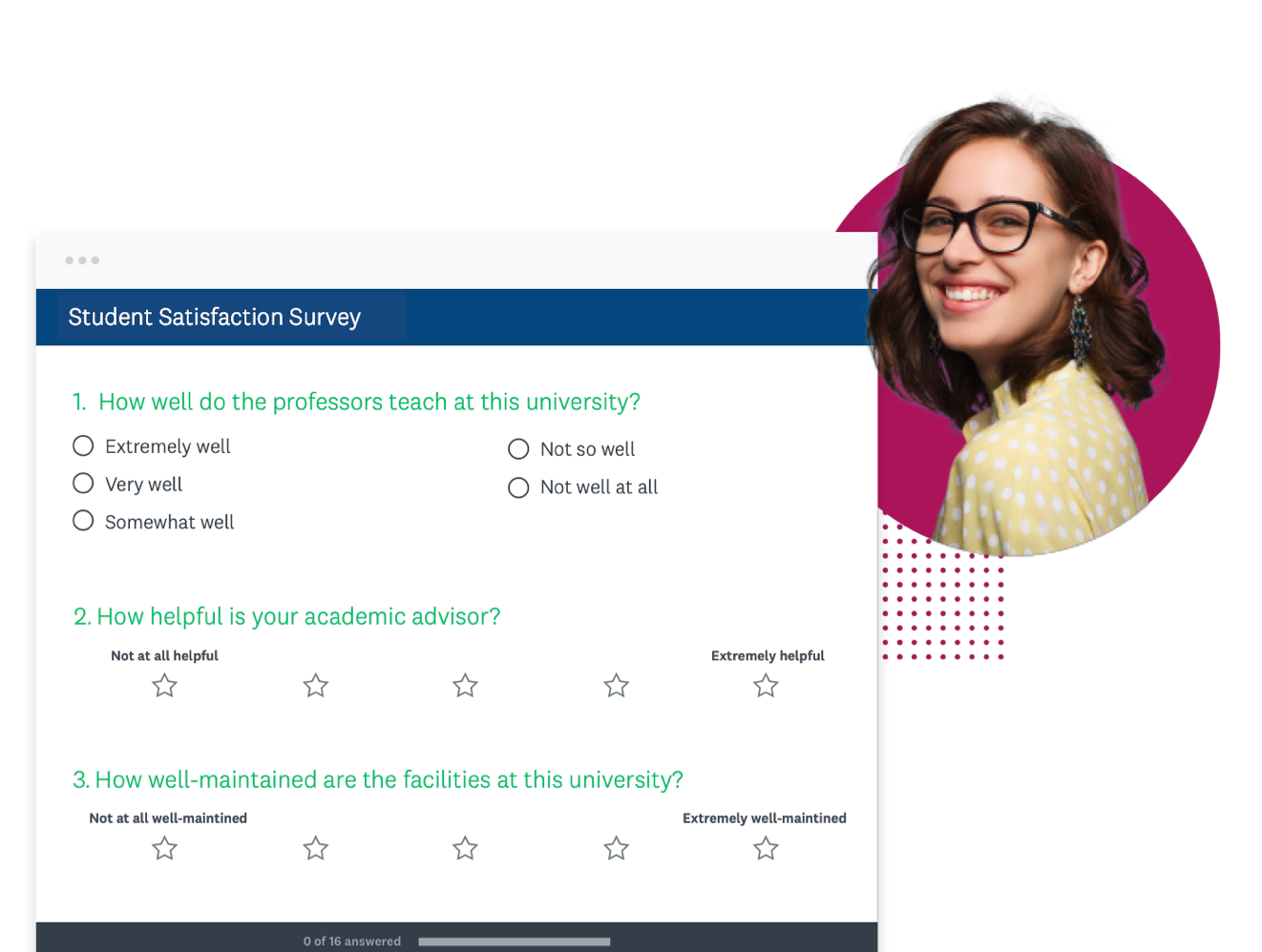 Survey with student